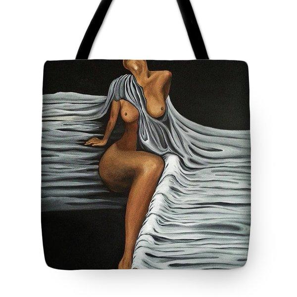 Ripple Shawl Tote Bag by Fei A