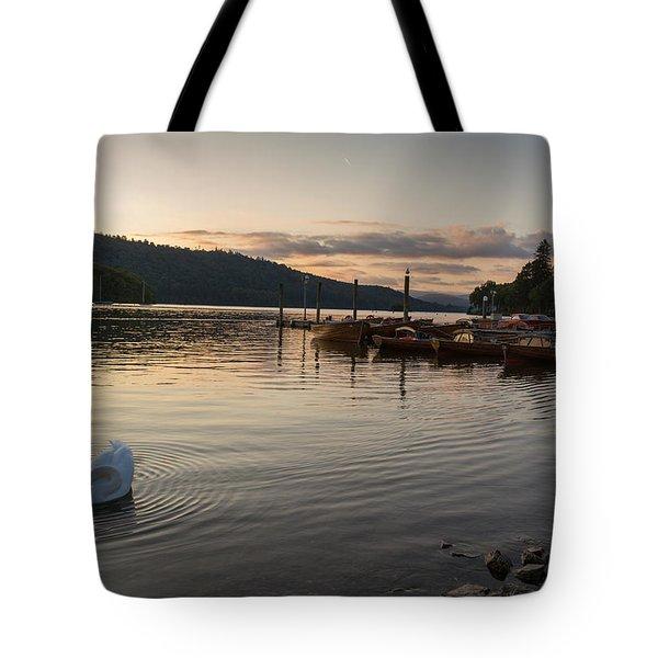 Ripple Surrounding Beauty Tote Bag