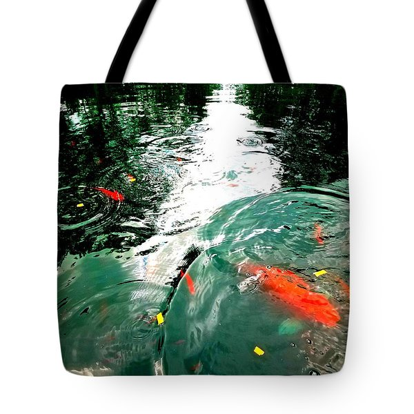 Ripple To The Past  Tote Bag