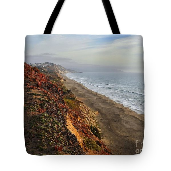 Rippled By Wind And Water Tote Bag