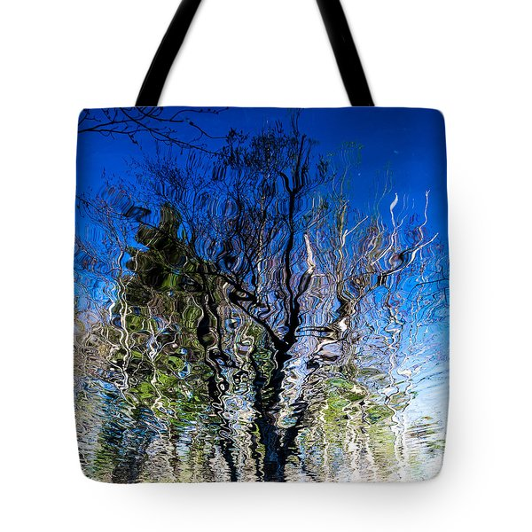 Rippled Reflection Tote Bag