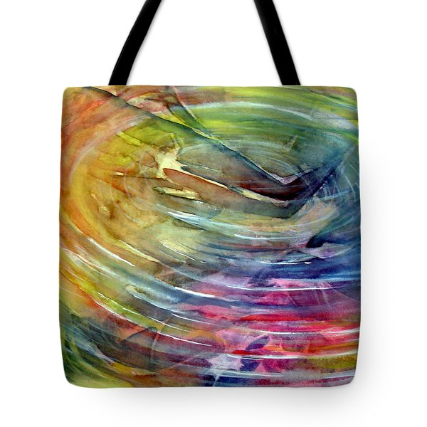 Ripples Tote Bag by Allison Ashton