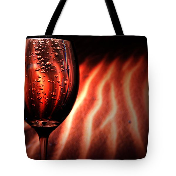 Ripples And Droplets Tote Bag