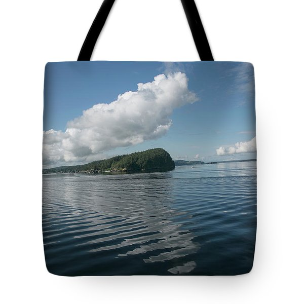 Tote Bag featuring the photograph Ripples by Elvira Butler