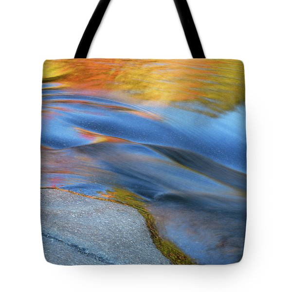 Ripples Flow Swift River Nh Tote Bag