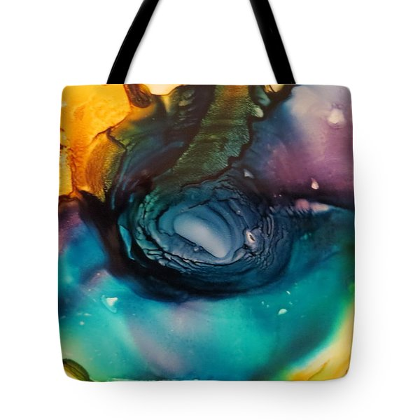 Ripples In Time Tote Bag