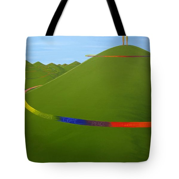 Ripples Of Life 1.4 Tote Bag