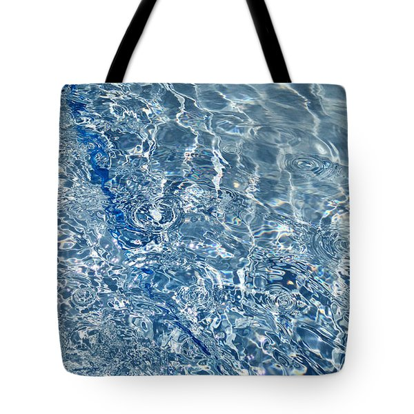 Ripples Of Summer Tote Bag