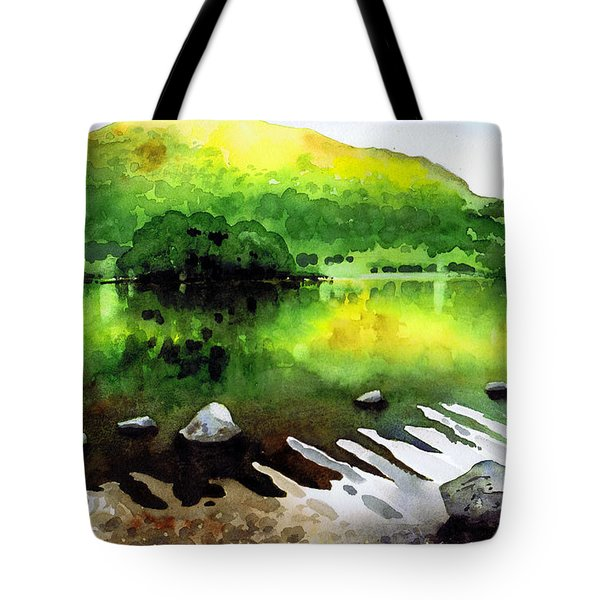 Ripples On Rydal Water Tote Bag