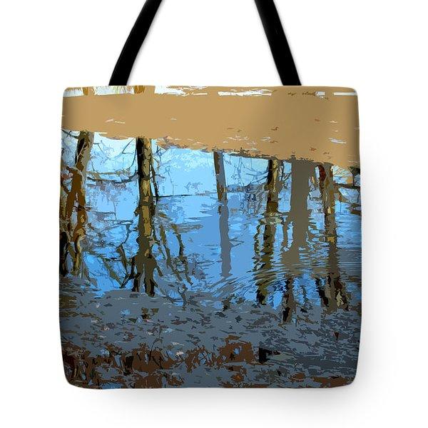 Ripples Tote Bag by Spyder Webb