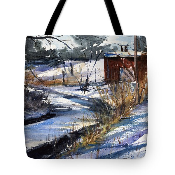 Rippleton Road River Tote Bag by Judith Levins