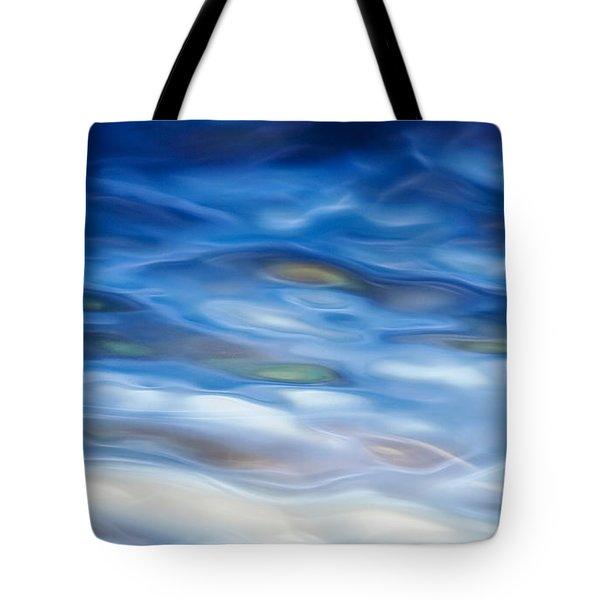 Rippling Blue Tote Bag