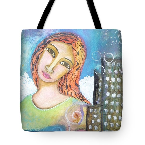 Rise Above Because You Are An Angel Tote Bag