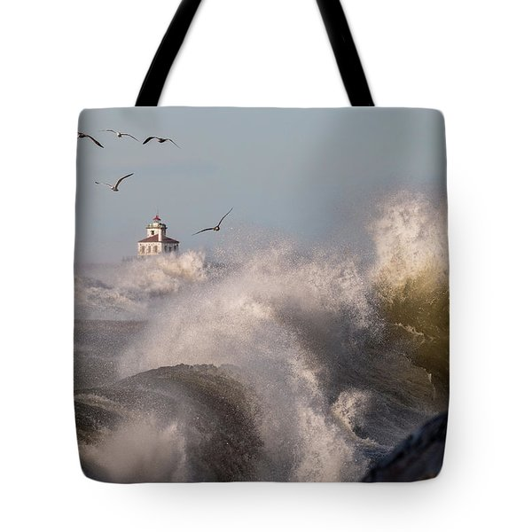 Tote Bag featuring the photograph Rise Above The Turbulence by Everet Regal