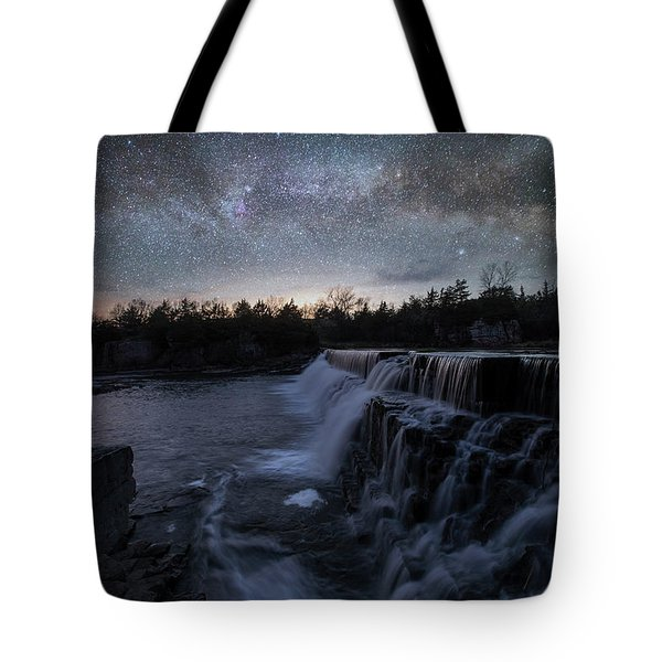 Rise And Fall Tote Bag