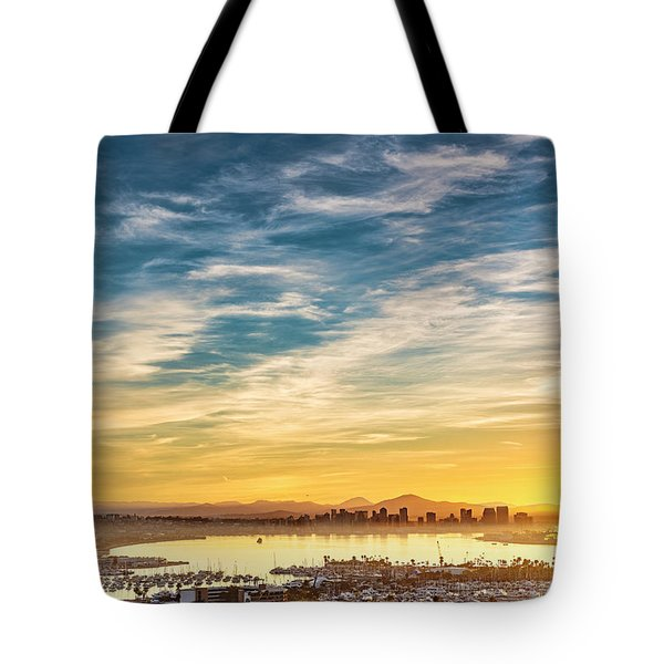 Tote Bag featuring the photograph Rise And Shine by Dan McGeorge