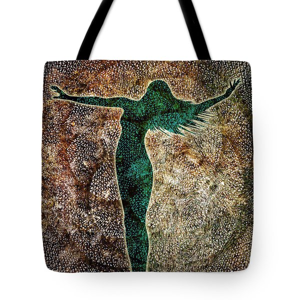 Rise Of The Divine Feminine Tote Bag by Jaison Cianelli