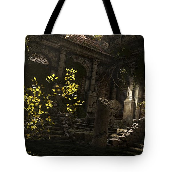Rise Of The Tomb Raider Tote Bag
