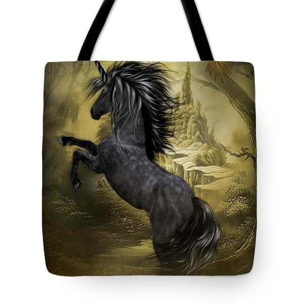 Rise Of The Unicorn Tote Bag
