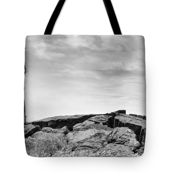 Tote Bag featuring the photograph Rise by Ryan Manuel