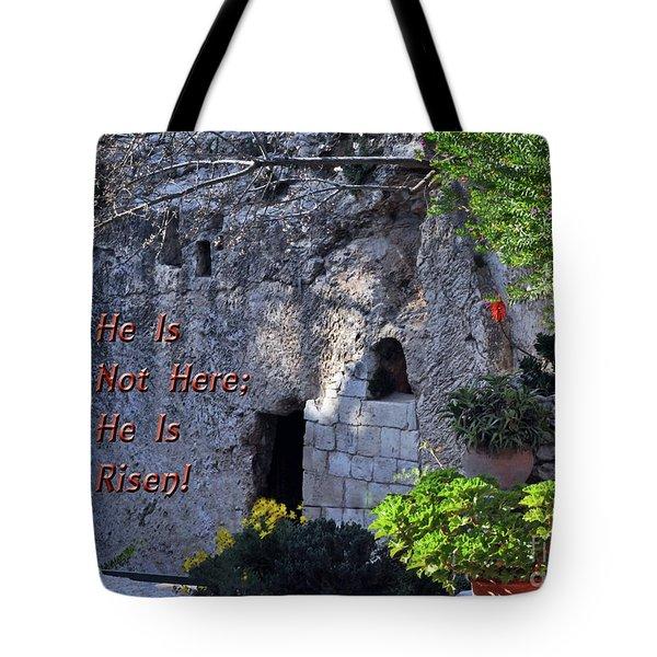 Risen Tote Bag
