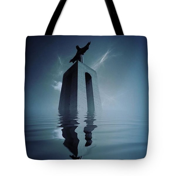 Rise Tote Bag by Jorge Ferreira