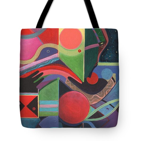 Rising Above And Synergy 2 Tote Bag