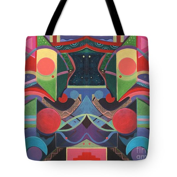 Rising Above And Synergy 3 Tote Bag
