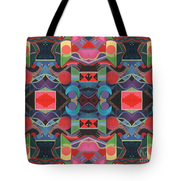 Rising Above And Synergy 4 Tote Bag by Helena Tiainen