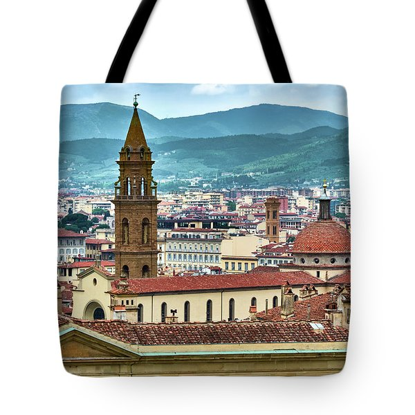 Rising Above The City Tote Bag