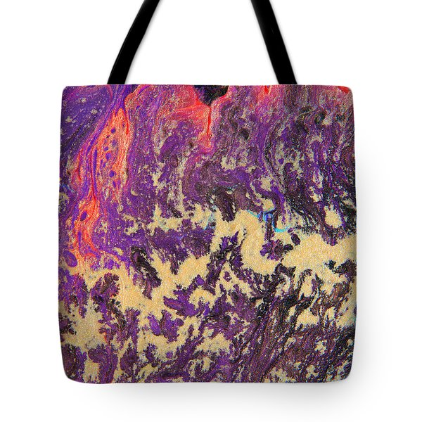 Rising Energy Abstract Painting Tote Bag