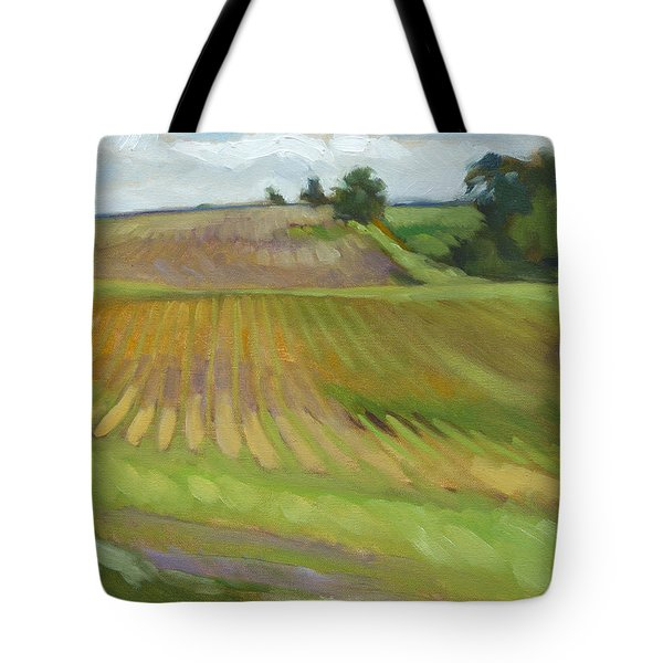 Rising Fields Tote Bag