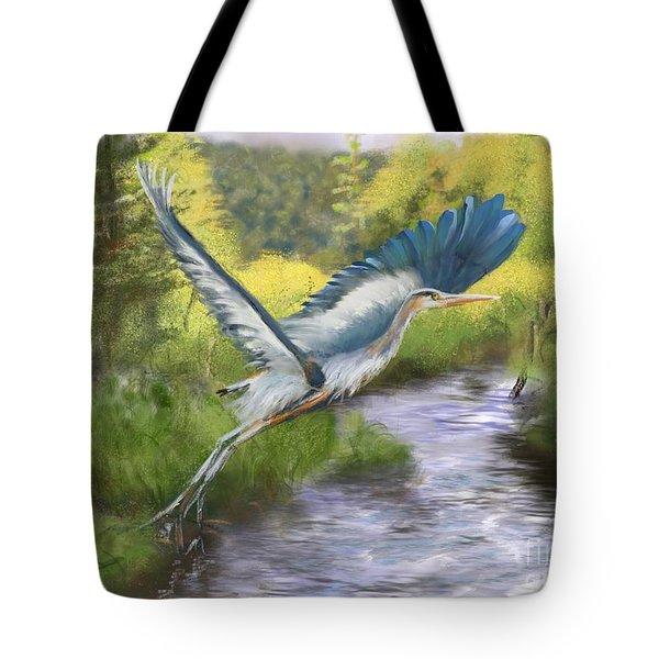 Rising Free Tote Bag