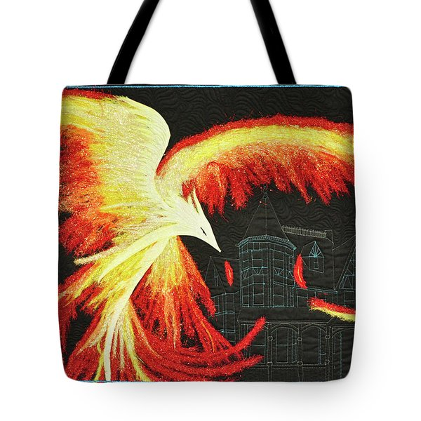 Rising From The Ashes Tote Bag