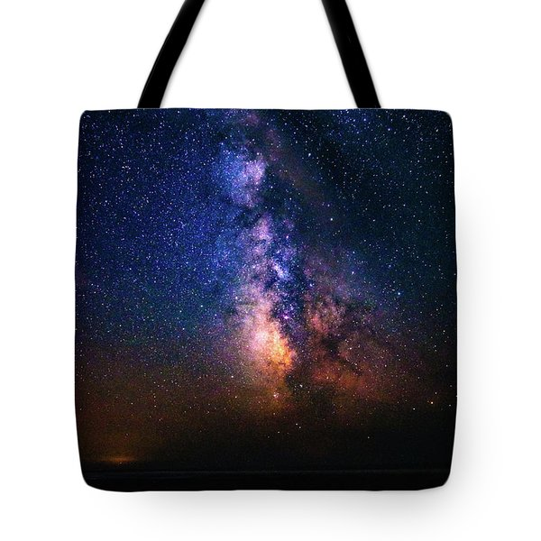 Rising From The Clouds Tote Bag