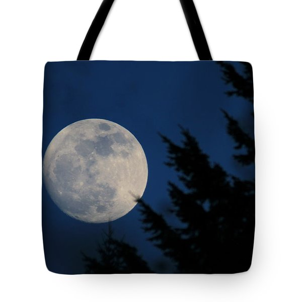 Rising High And Almost Full Tote Bag