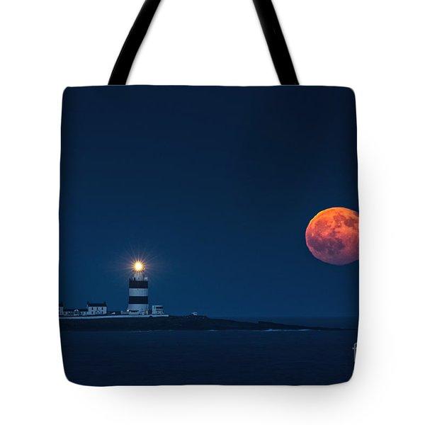 Rising Moon Tote Bag
