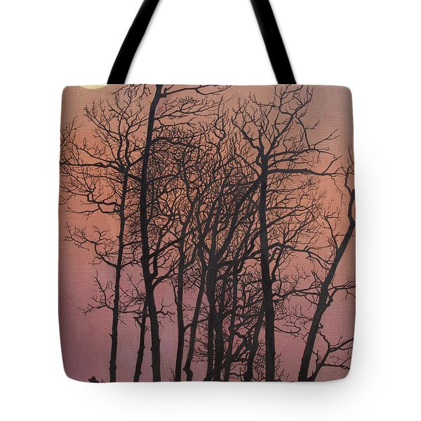 Rising Of The Moon  Tote Bag