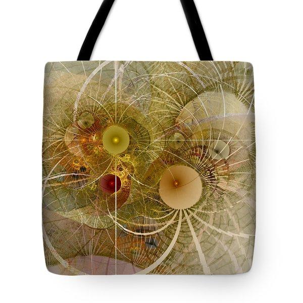 Rising Spring - Fractal Art Tote Bag