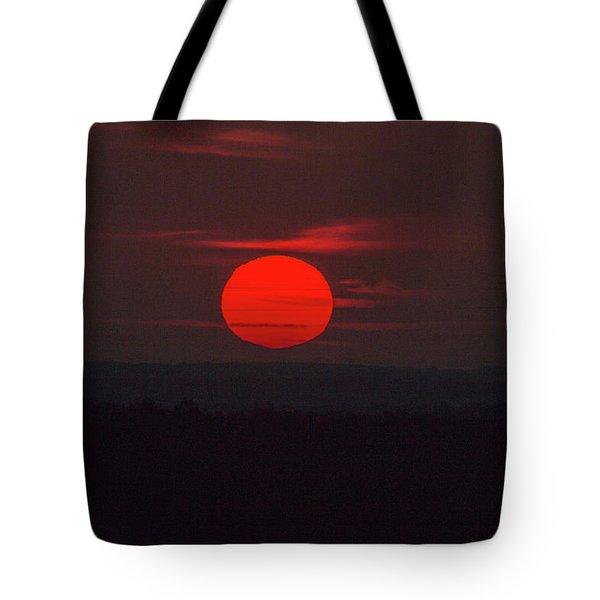 Rising Sun In Texas Tote Bag