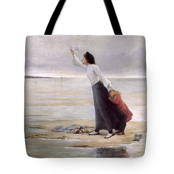 Rising Tide Tote Bag by Uranie Colin Libour