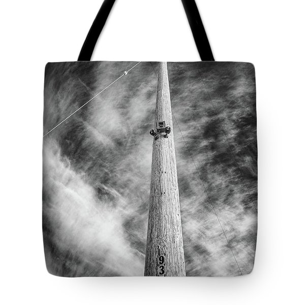 Tote Bag featuring the photograph Rising To The Heights by Greg Nyquist