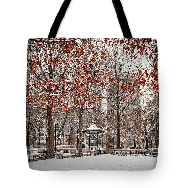 Rittenhouse Snowscape Tote Bag