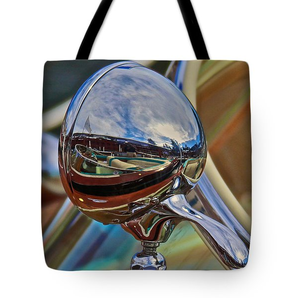 Riva Chrome Tote Bag