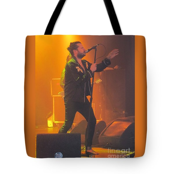 Rival Sons Jay Buchanan Tote Bag