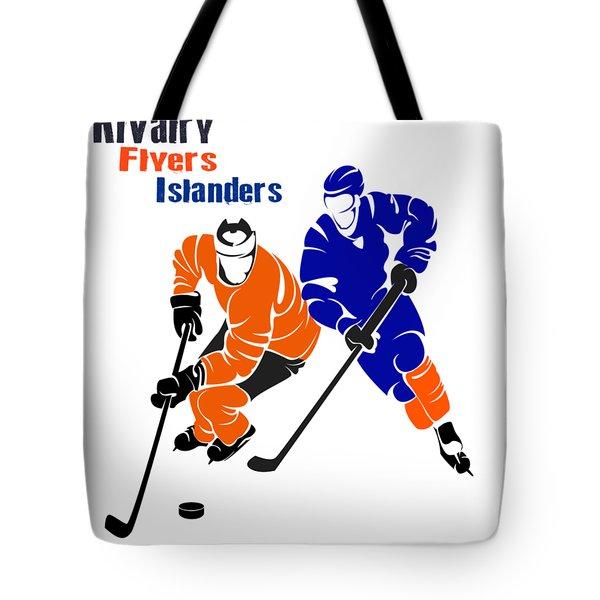 Rivalry Flyers Islanders Shirt Tote Bag