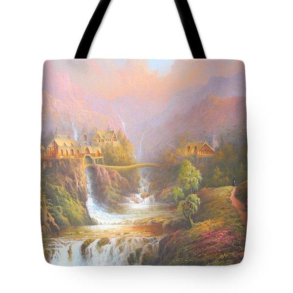 Rivendell Tote Bag by Joe Gilronan