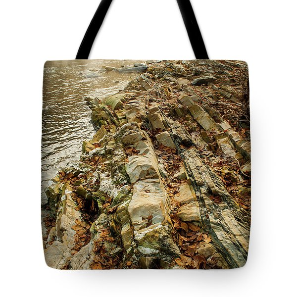 Tote Bag featuring the photograph River Bank by Iris Greenwell