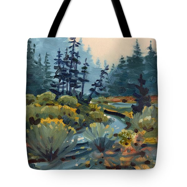 River Bend Tote Bag by Donald Maier