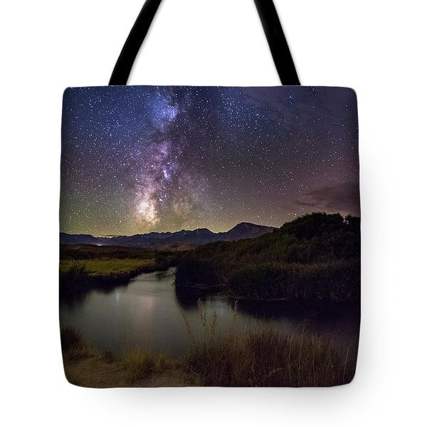 River Bend Tote Bag by Tassanee Angiolillo